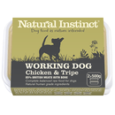Natural Instinct Working Chic/Tpe 2x500g Raw Dog Food Natural Instinct