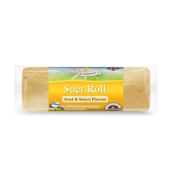 Harrisons Suet Roll Seed/Insect 500g Outdoor Food Harrisons