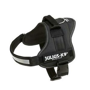 Julius K9 Harness Black 0 Collars & Leads Julius-K9