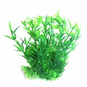 "Betta 5"" Green Plastic Plant Plastic Plants Betta"