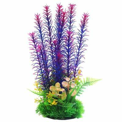 "Betta 9"" Purple&Pink Combi Plastic Plant Plastic Plants Betta"