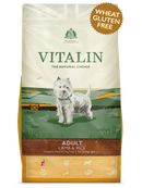 Vitalin Lamb & Rice Sensitive 12kg Dry Dog Food Vitalin