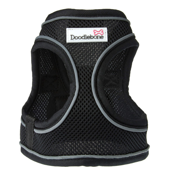 Doodlebone Snappy Harness Black XX-Large Harness DoodleBone
