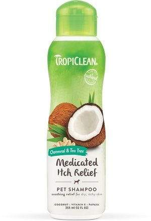 Tropiclean Oatmeal/Tea Tree Shampoo 355