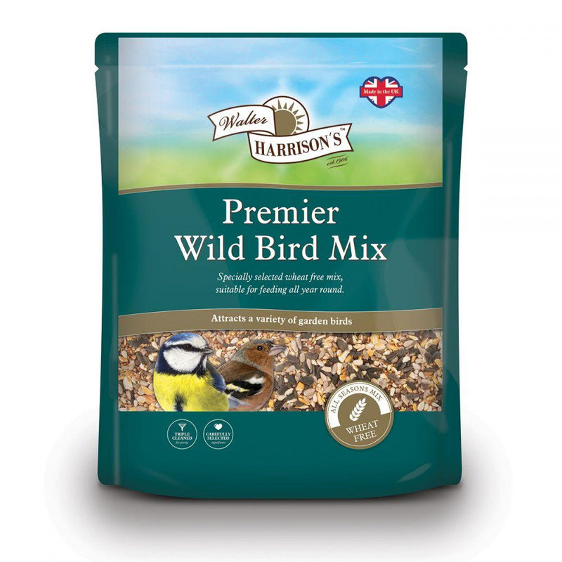 Harrisons Premier Wild Bird Mix 2kg Outdoor Food Harrisons