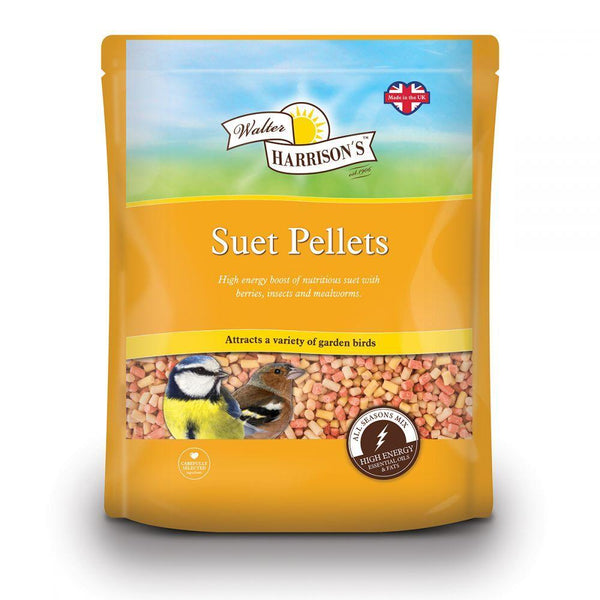Harrisons Suet Pellets Variety Pouch 2kg Outdoor Food Harrisons