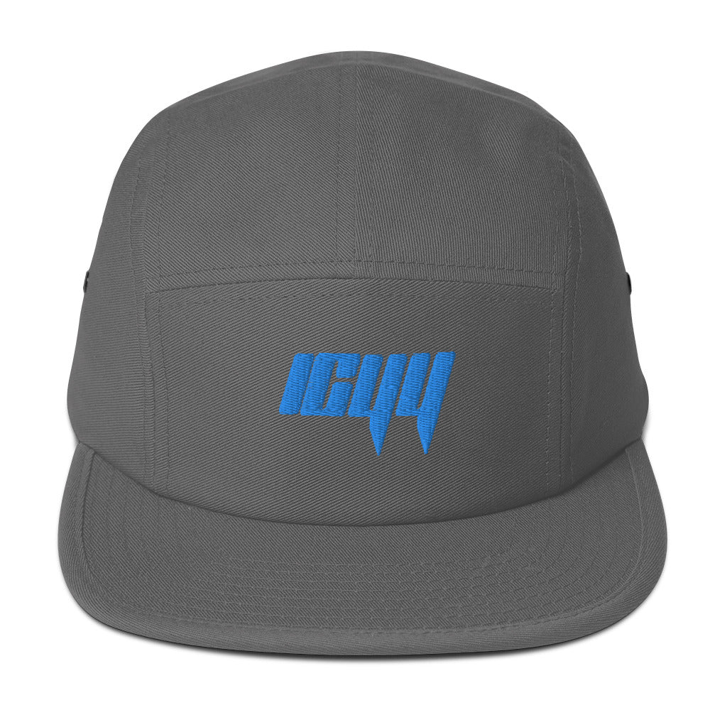 Blue icyy Five Panel Cap