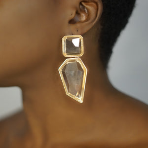 Load image into Gallery viewer, ABANA clear fashion drop earrings