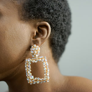 KERRY rhinestone drop earrings