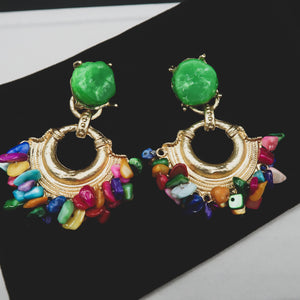 JALEESA Egyptian rock drop earrings