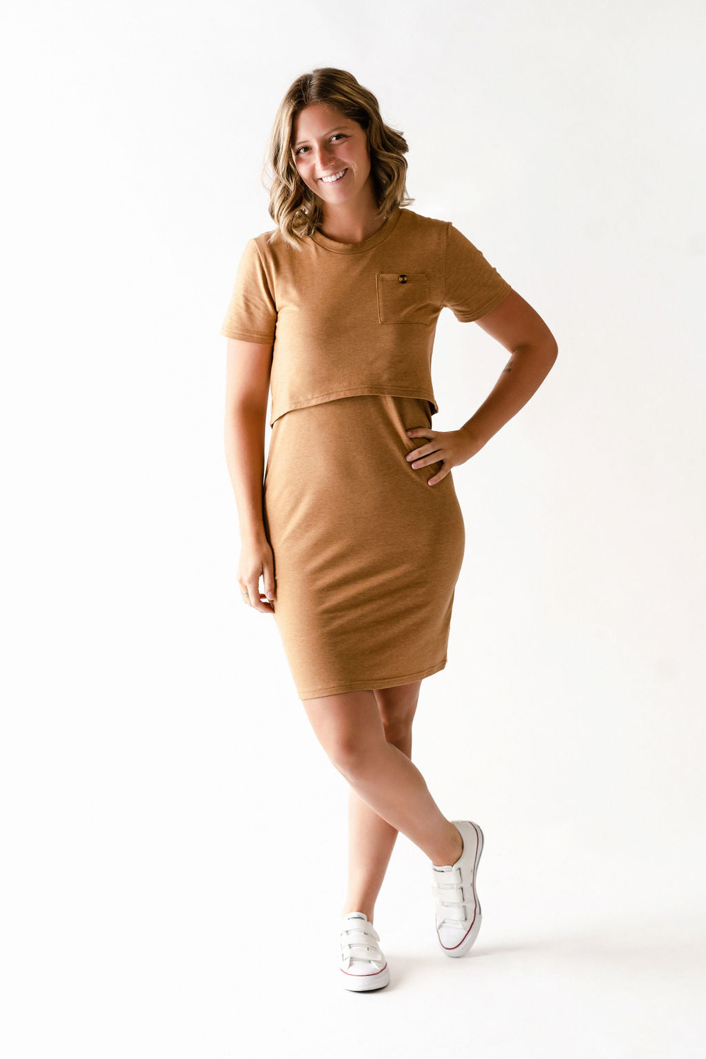 Robe CAMILLE - caramel