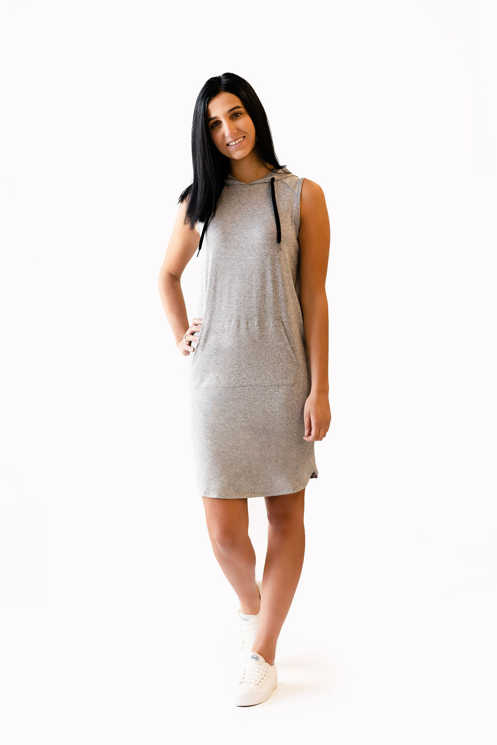 Robe BETTY - gris mix