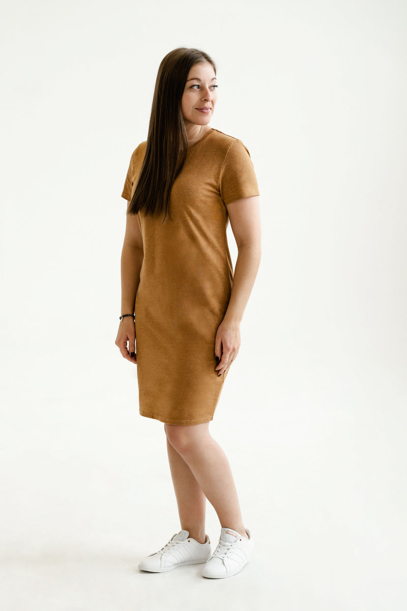 Robe INTRIGUE - caramel