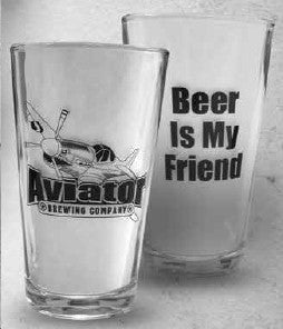 Aviator Pint Glass