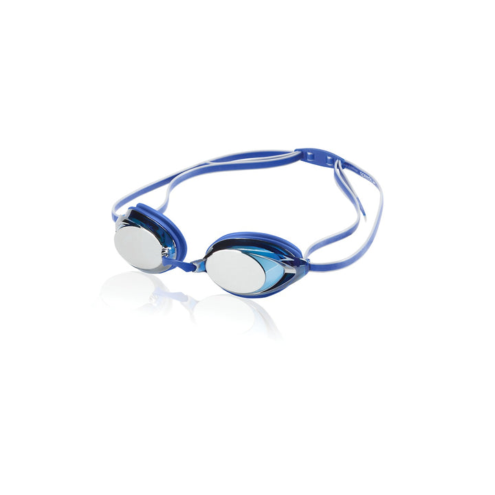 SPEEDO VANQUISHER 2.0 MIRRORED GOGGLES IN Blue