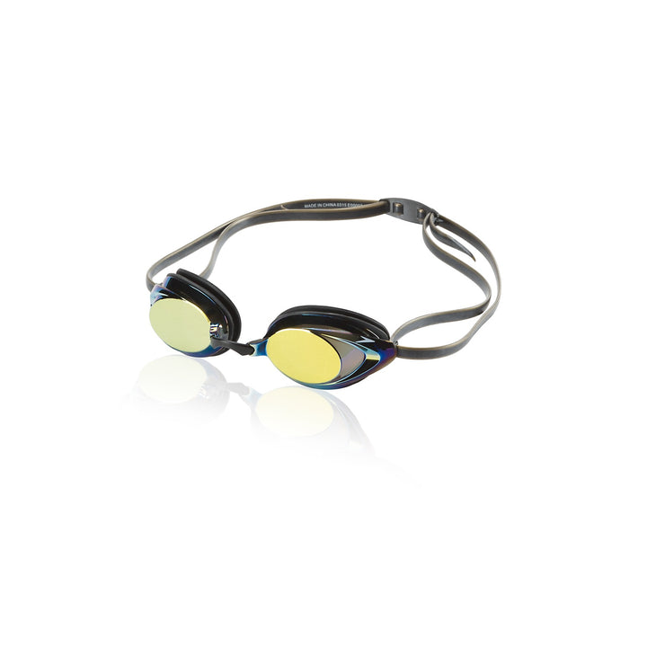 SPEEDO VANQUISHER 2.0 MIRRORED GOGGLES IN Deep Gold
