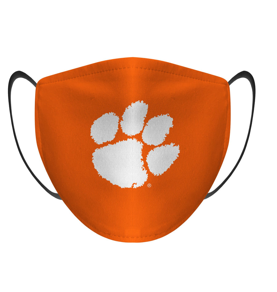 Clemson Tigers Adjustable Face Mask