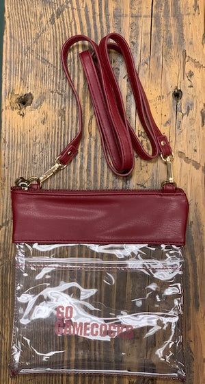 South Carolina Gamecocks Clear Game Day Crossbody
