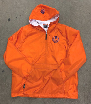 Orange CHARLES RIVER CLASSIC PULLOVER (BLANK OR MONOGRAMMED)