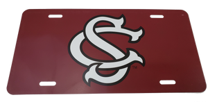 South Carolina Gamecocks Baseball Logo License Plate