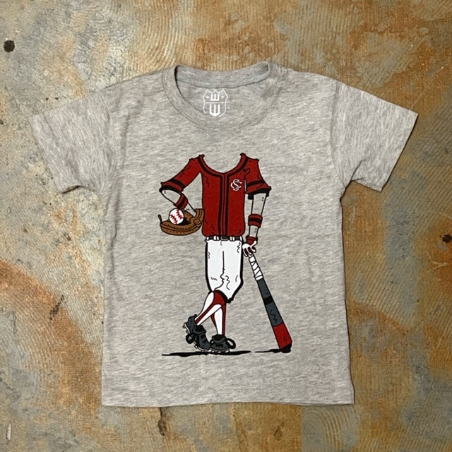 USC Gamecocks Baseball Player Tee by Wes & Willy