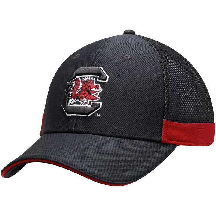 South Carolina Gamecocks Under Armour Team Logo Sideline Blitzing Accent Adjustable Hat - Black