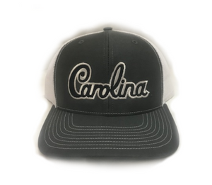 "South Carolina Gamecocks Grey  ""Carolina"" Script Hat"