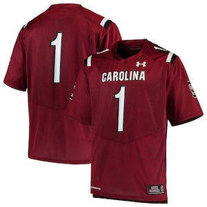 #1 South Carolina Gamecocks Under Armour Team Replica Football Jersey