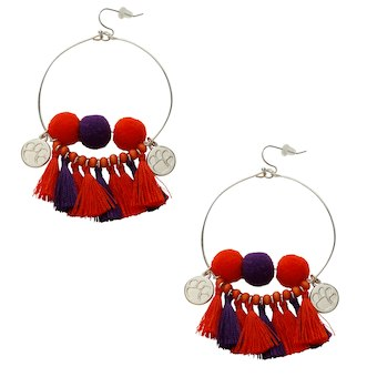 Clemson Tigers Maci Earrings