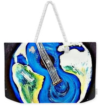Load image into Gallery viewer, Music Makes the World Go 'Round - Weekender Tote Bag