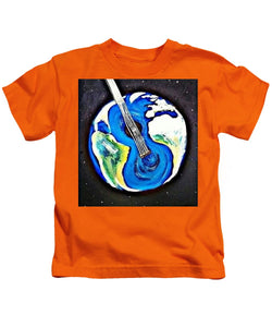 Music Makes the World Go 'Round - Kids T-Shirt