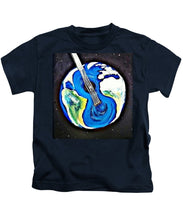 Load image into Gallery viewer, Music Makes the World Go 'Round - Kids T-Shirt