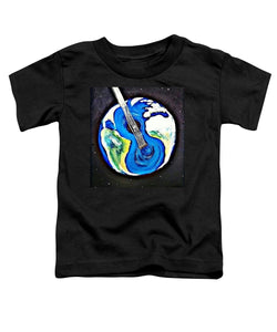 Music Makes the World Go 'Round - Toddler T-Shirt