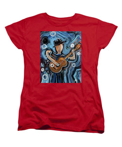 Calhoun Street Blues - Women's T-Shirt (Standard Fit)
