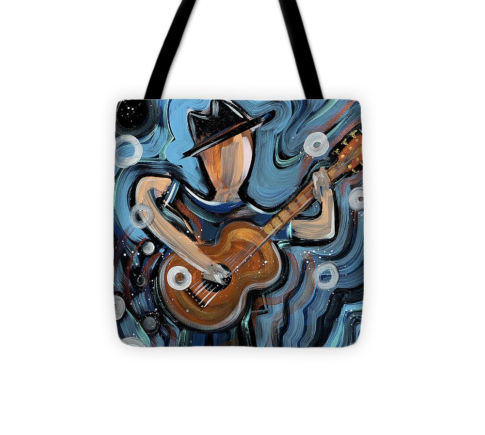 Calhoun Street Blues - Tote Bag