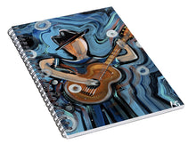 Load image into Gallery viewer, Calhoun Street Blues - Spiral Notebook