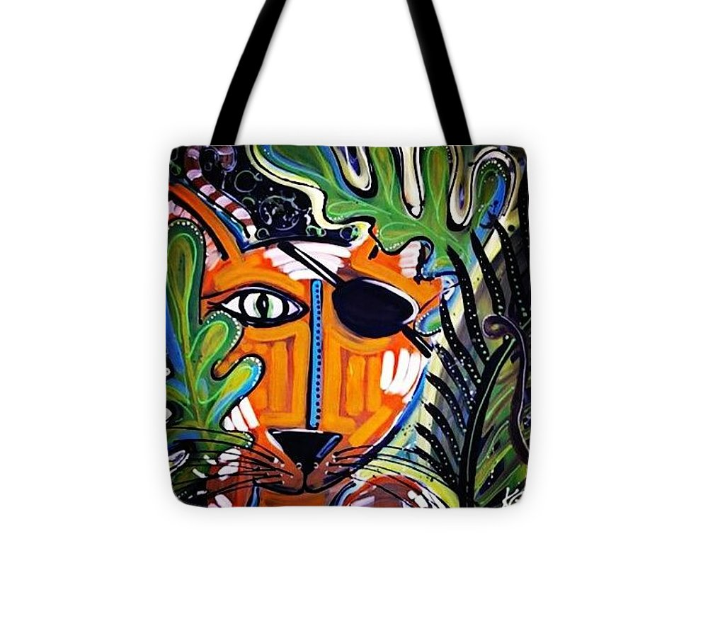 Eye of the Tiger - Tote Bag