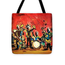 Load image into Gallery viewer, Jazzy - Tote Bag