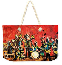 Load image into Gallery viewer, Jazzy - Weekender Tote Bag