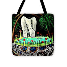 Load image into Gallery viewer, Midnight at the Oasis - Tote Bag