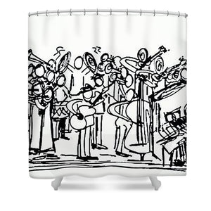 Orchestrated - Shower Curtain