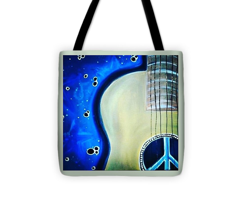 Peace Guitar - Tote Bag
