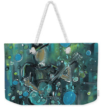 Load image into Gallery viewer, Super Blue - Weekender Tote Bag