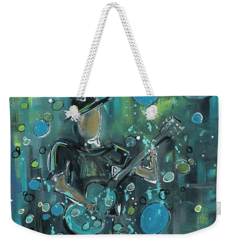 Super Blue - Weekender Tote Bag