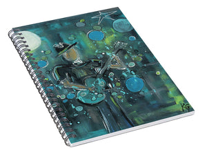 Super Blue - Spiral Notebook
