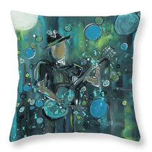 Load image into Gallery viewer, Super Blue - Throw Pillow