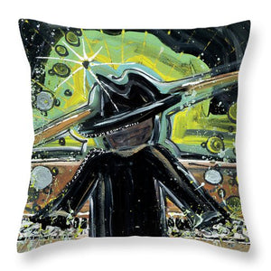 The Project - Throw Pillow