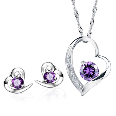 amethyst-romantic-heart-set