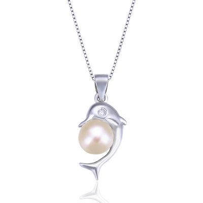 dolphin-&-pearl-pendant