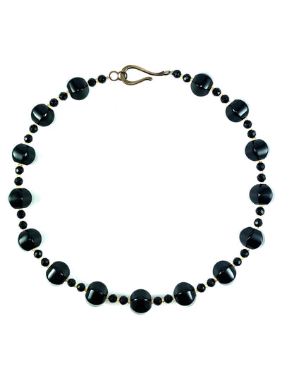 onyx-silver-necklace